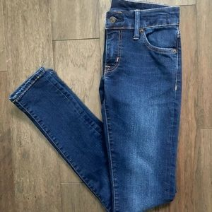 Ralph Lauren Denim Supply Dark Wash Skinny Jeans